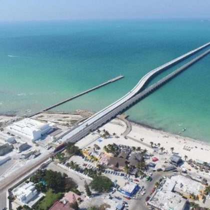 Progreso Port Viaduct (Mexico)